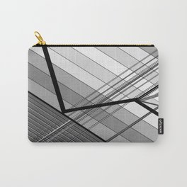 Gray Geometry 2 Carry-All Pouch