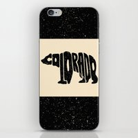 colorado iPhone & iPod Skins featuring Colorado by Jake Martin