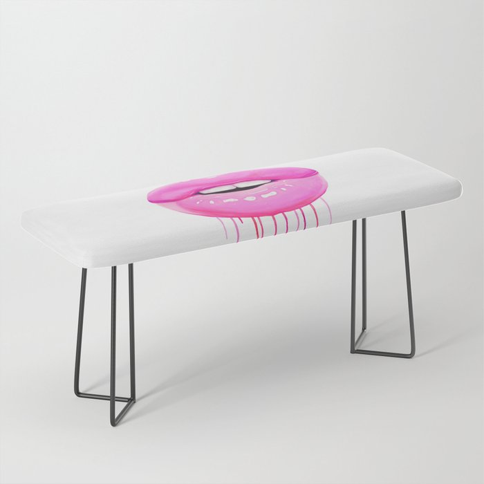 Pink lips Bench
