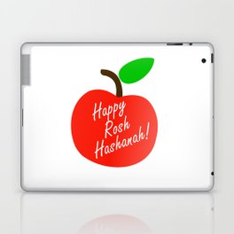 Rosh Hashanah inside an red apple or Jewish Near year greetings Laptop & iPad Skin