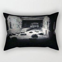 mining rock shoot Rectangular Pillow