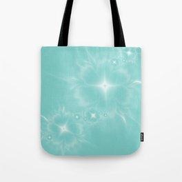 Fleur de Nuit in Aqua Tone Tote Bag