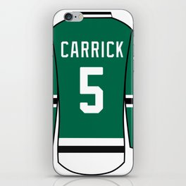 Connor Carrick Jersey iPhone Skin