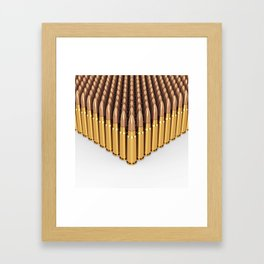Ammunition Framed Art Print