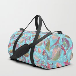 Lizards and More Leaves Duffle Bag