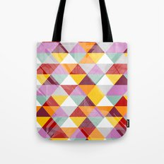 Triagles warm Tote Bag