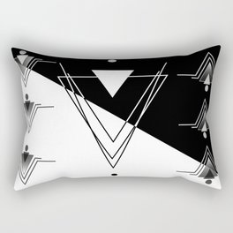 Vectorial triangles Rectangular Pillow