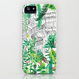 Palmhouse iPhone Case