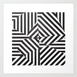 Dazzle 03. Art Print
