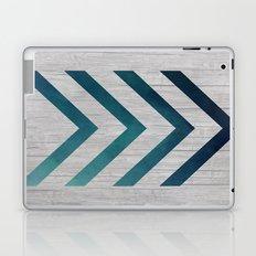 Blue Arrow  Laptop & iPad Skin
