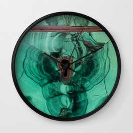 Malachite Box Wall Clock