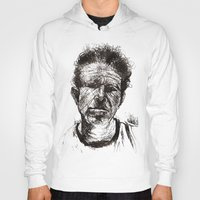 tom waits Hoodies featuring Tom Waits Bad As Me  by b_ethany