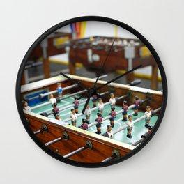 Soccer tables Wall Clock