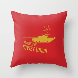 T-72 (Product of SOVIET UNION) Throw Pillow