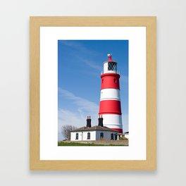 Happisburgh Lighthouse,Norfolk,UK Framed Art Print