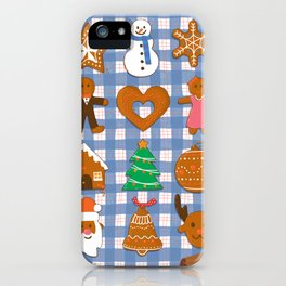 Gingerbread Cookies - Christmas delight iPhone Case