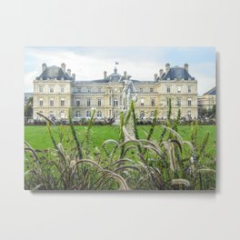 Luxembourg Palace Metal Print