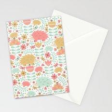 Spring Hedgehog Forest Stationery Cards