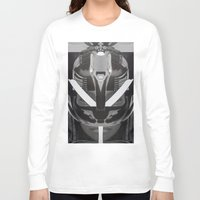 givenchy Long Sleeve T-shirts featuring Givenchy tribal design by cvrcak