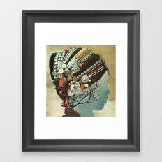 capillaries Framed Art Print