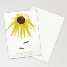 Blackeyed Susan Modern Botanical Stationery Cards