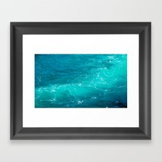 H2Oh, that's cold! Framed Art Print