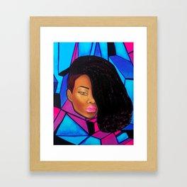 Cool - Afro Natural Hair Art Framed Art Print