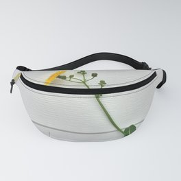 Healing nature - I am a flower, not a weed Fanny Pack