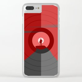 Music mountain Clear iPhone Case