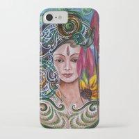 chakra iPhone & iPod Cases featuring Chakra Mandla by Harsh Malik