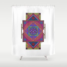 Just Another Roll of the Dice Shower Curtain