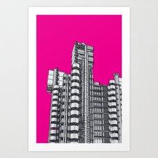 London Town - Lloyds of London Art Print