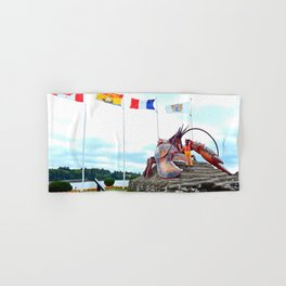 Shediac Lobster Hand & Bath Towel