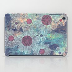 Blue Flowers iPad Case