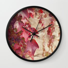Vines Wall Clock