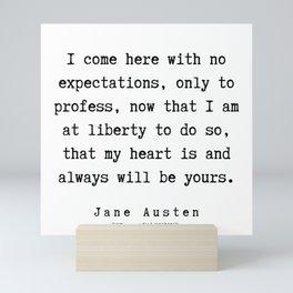 75   | Jane Austen Quotes | 190722 Mini Art Print