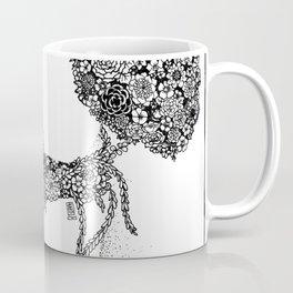 Anatomy Series: Knee Flowers Coffee Mug