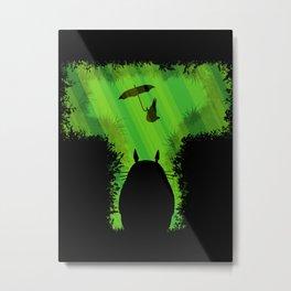 T for Totoro Metal Print