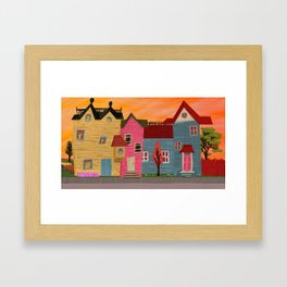 Avenue Avenue Framed Art Print