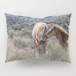 Salt River Mare and Her Colt, No. 1 Pillow Sham