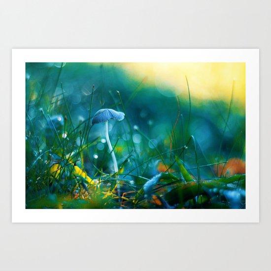 Emerging to Ocean Art Print