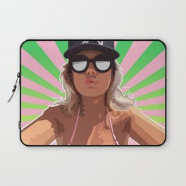 This Girl Wants To Kiss Me Laptop Sleeve