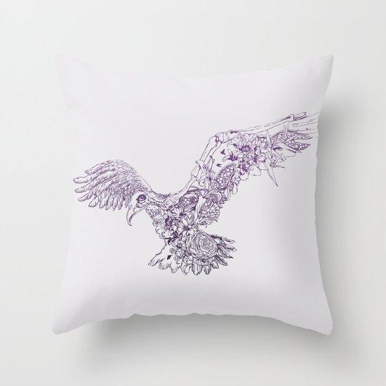 Paradise Found Throw Pillow