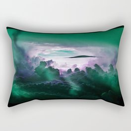 I Want To Believe - Aqua Rectangular Pillow