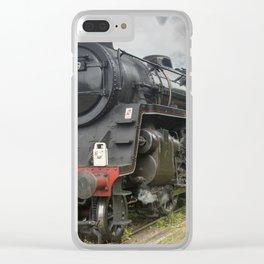 Beautiful steam train Clear iPhone Case