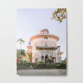 Montserrat Palace in Sintra | Lisbon Portugal travel photography print | Bohemian vibes Metal Print