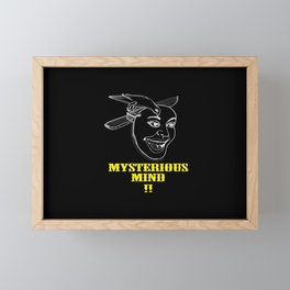 my sterious mind Framed Mini Art Print