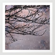 Dusky Winter Days Art Print