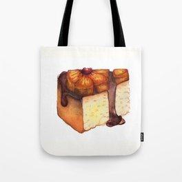 Pineapple Upside-Down Cake Slice Tote Bag