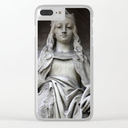 Brussels IV Clear iPhone Case